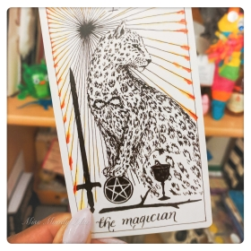 From The Wild Unknown deck.