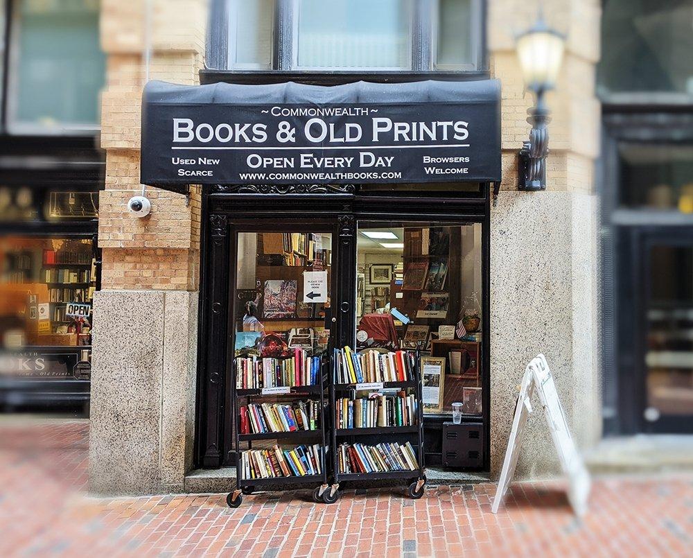 Freedom Trail Bookstore in Boston, MA.