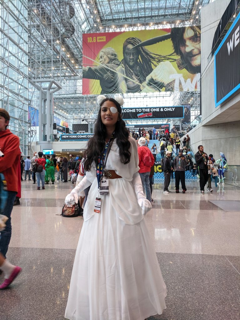 Miss moody lilac at NYCC 2019 as Connie from Steven Universe