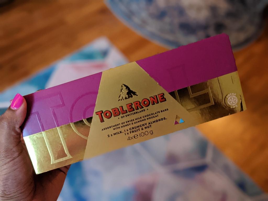 Miss moody lilac toblerone sampler gift set
