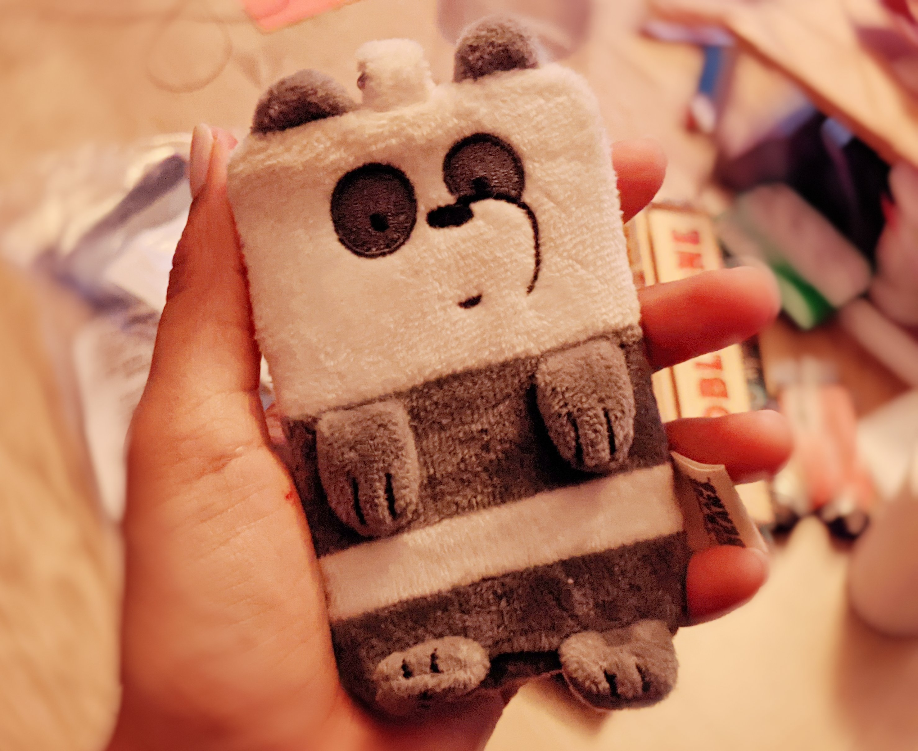 Miss Moody Lilac panda card holder from we bear bears