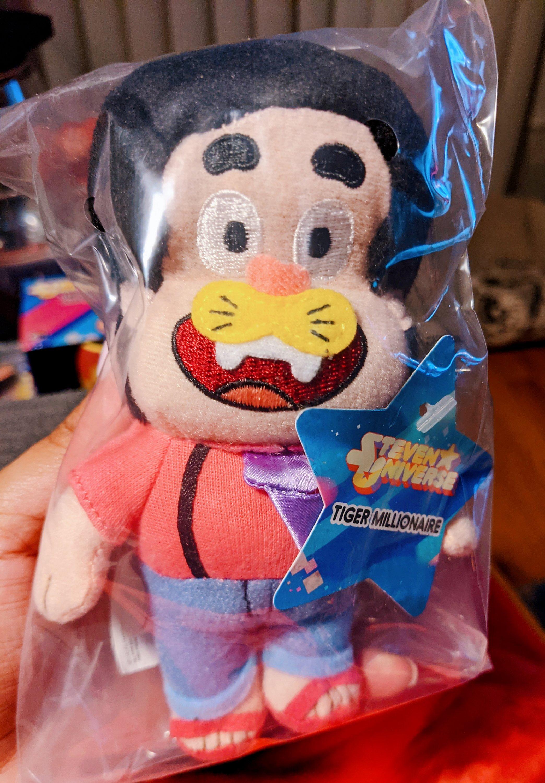 Miss Moody Lilac Steven universe mystery box. Tiger Millionaire Steven plush