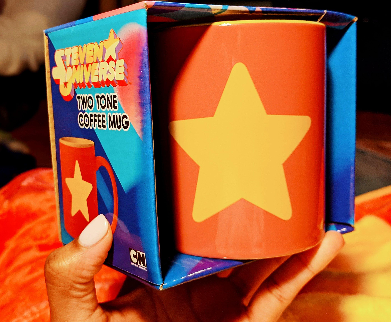Miss Moody Lilac Steven universe mystery box. Steven Universe star mug.
